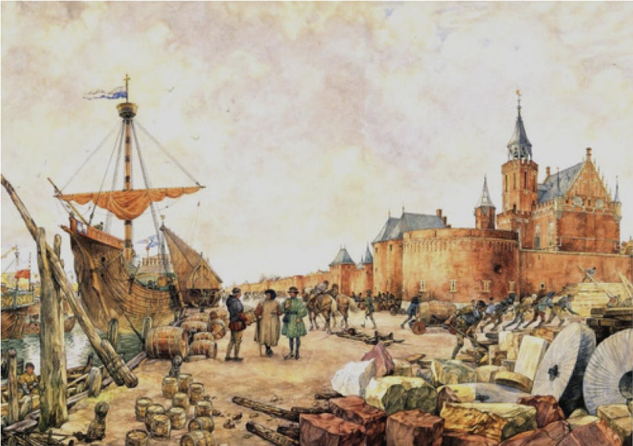 De rijke hanzestad Kampen