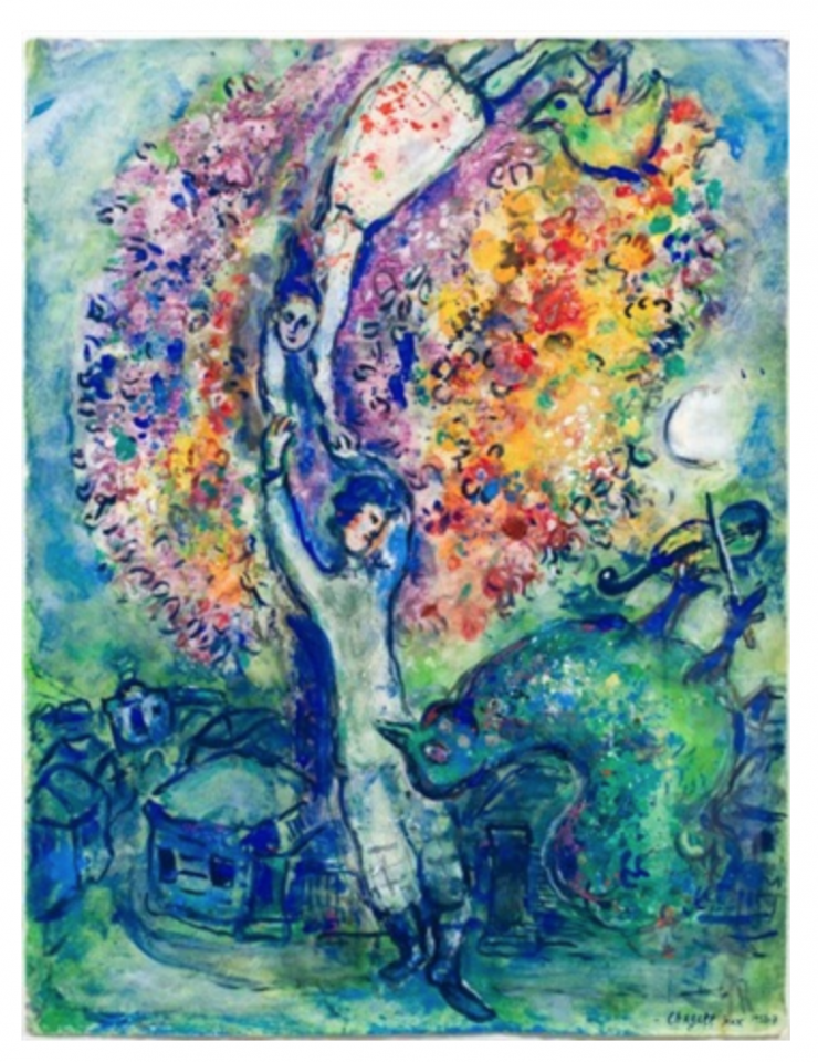 Chagall's droomwereld