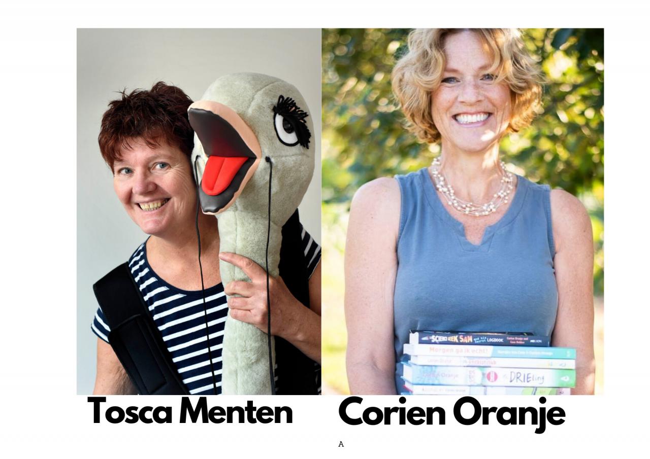 Online schrijversbezoek in de kinderboekenweek