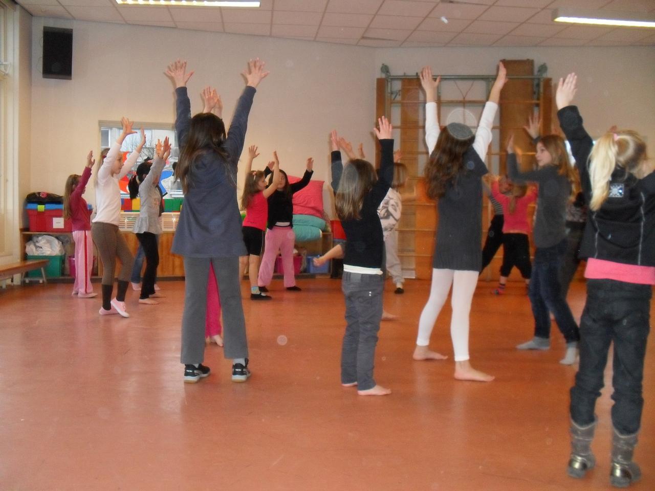Dansen vanuit een thema