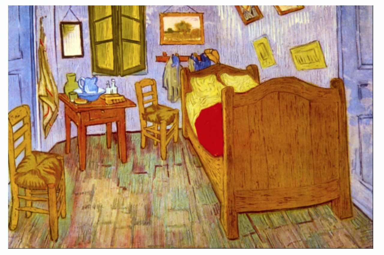 De Slaapkamer  van van Gogh
