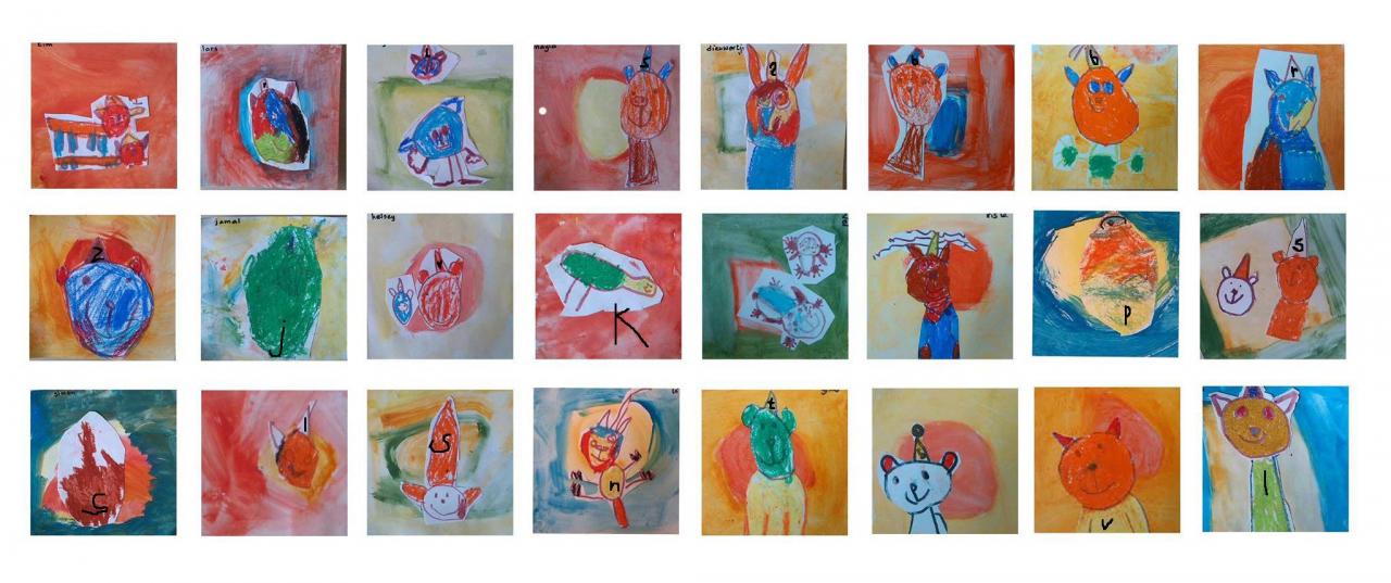 Taal in beeld  Illustratie 1-4